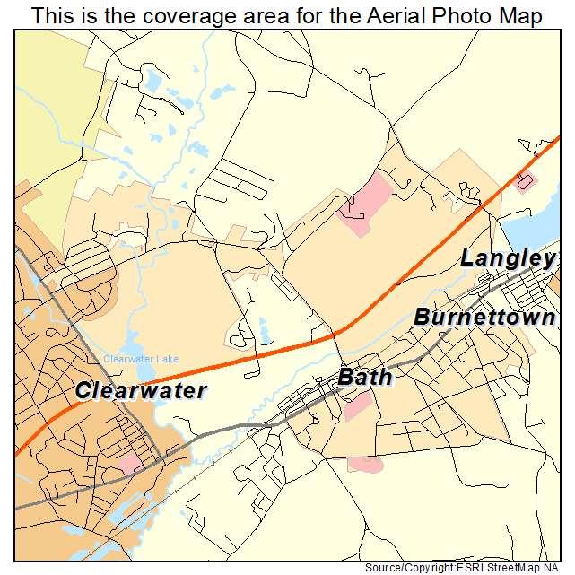 Burnettown, SC location map