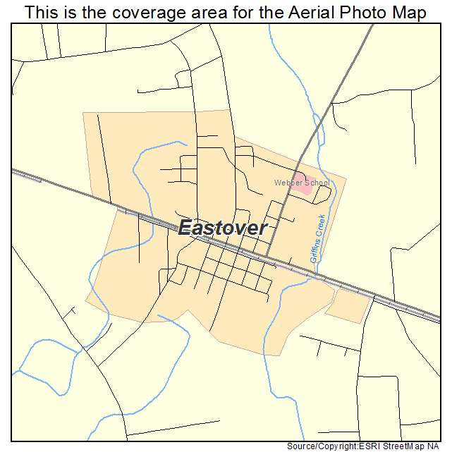 Eastover, SC location map