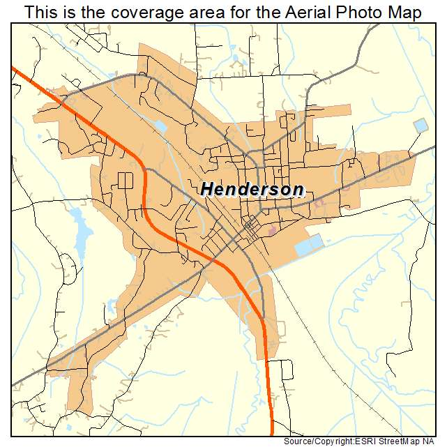 Henderson Tennessee Map.Aerial Photography Map Of Henderson Tn Tennessee