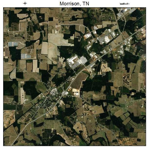 Morrison, TN air photo map