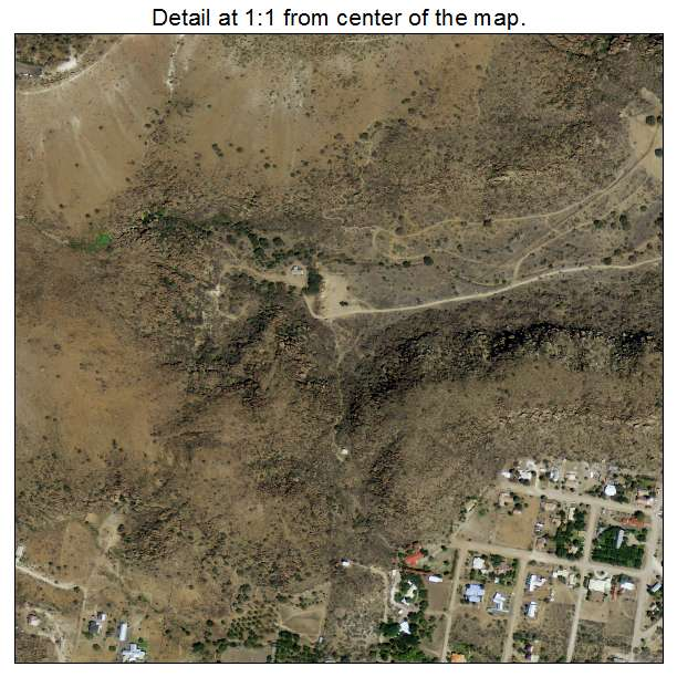 Aerial Photography Map Of Fort Davis Tx Texas