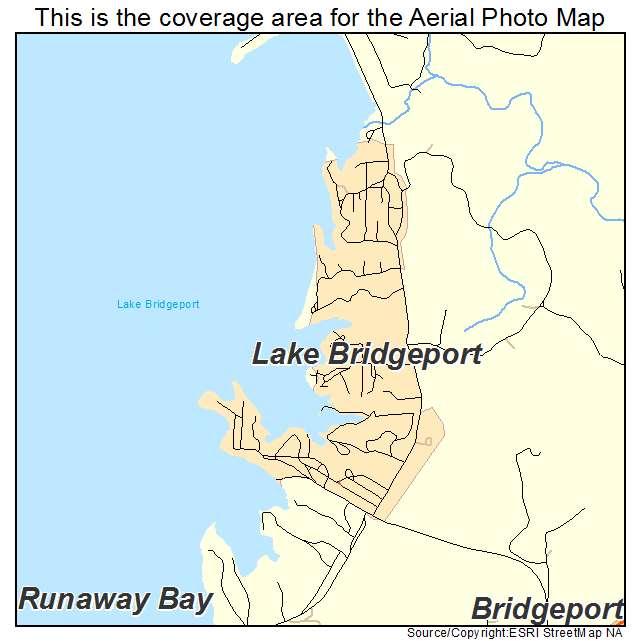 Lake Bridgeport, TX location map