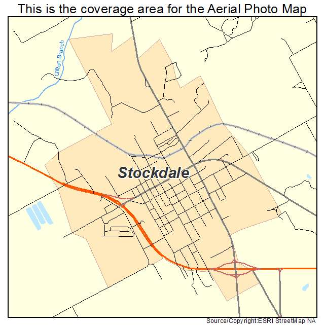 Stockdale, TX location map