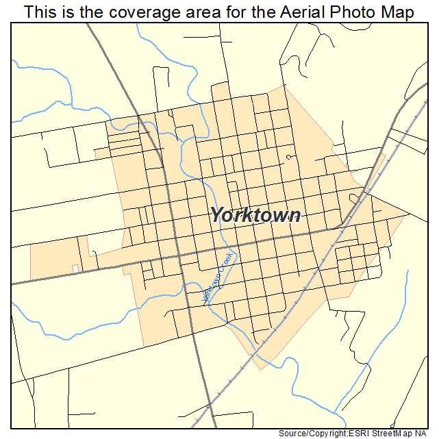 Map Of Yorktown Tx.Yorktown Tx Texas Aerial Photography Map 2014