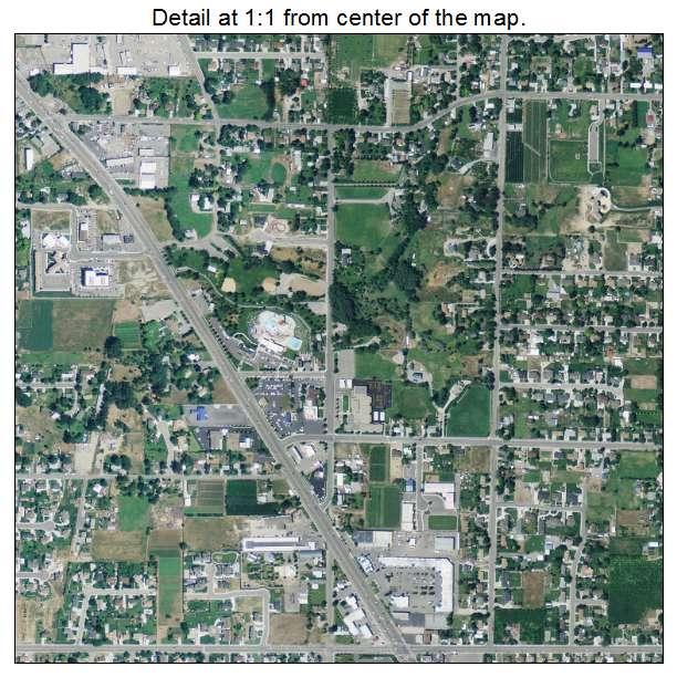 Aerial Photography Map Of Lindon Ut Utah