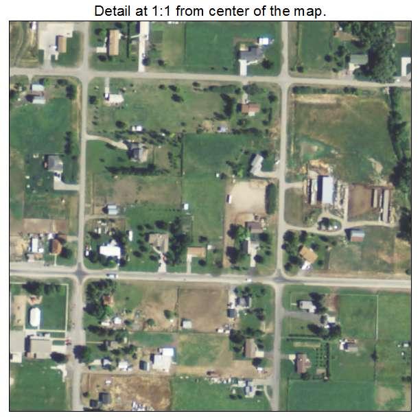 Paradise Utah Map.Aerial Photography Map Of Paradise Ut Utah