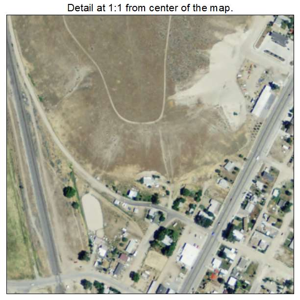 Stockton, Utah aerial imagery detail