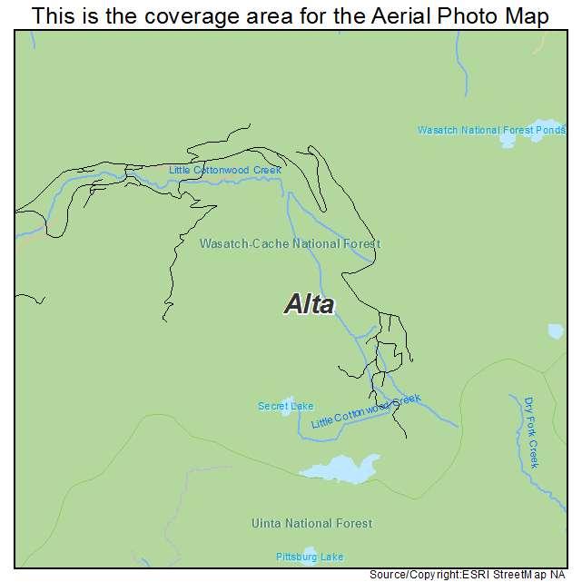 Alta, UT Utah Aerial Photography Map 2014 on map of mountain green utah, map of brighton utah, map of santa clara utah, map of genola utah, map of copperton utah, map of south weber utah, map of silver fork utah, map of west valley city utah, map of summit park utah, map of elk ridge utah, map of timber lakes utah, map of henefer utah, map of vineyard utah, map of little cottonwood canyon utah, map of snowbird utah, map of park city utah, map of draper utah, map of box elder county utah, map of millcreek utah, map of great salt lake utah,