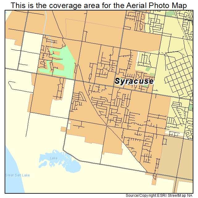 Syracuse UT On Map