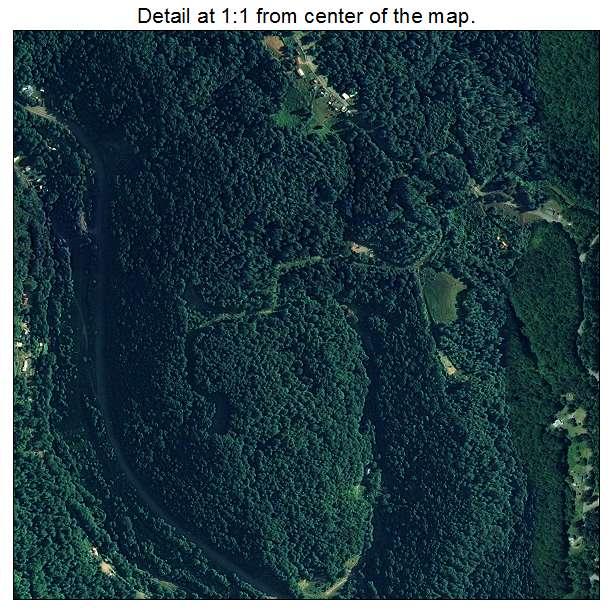 Raven, Virginia aerial imagery detail