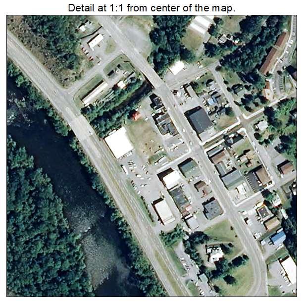 Rich Creek, Virginia aerial imagery detail