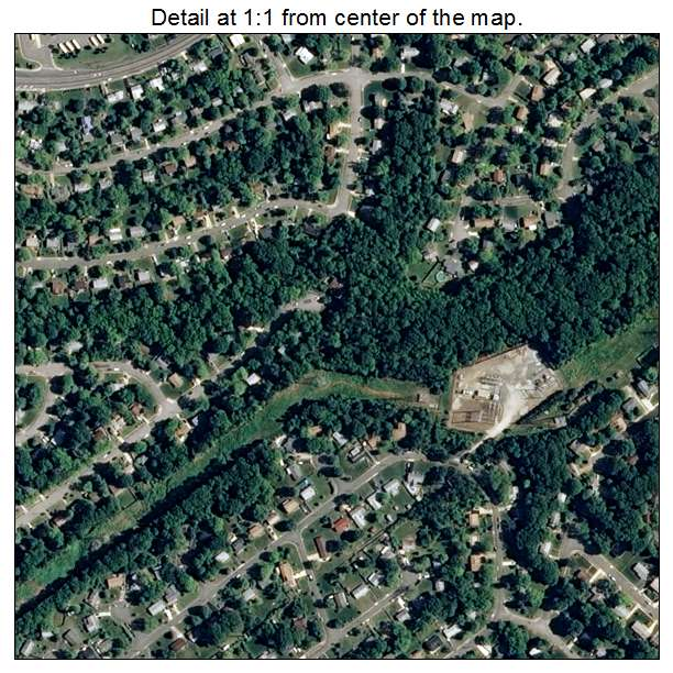 Rose Hill, Virginia aerial imagery detail