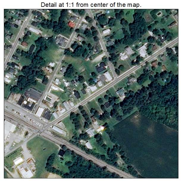 Wakefield, Virginia aerial imagery detail