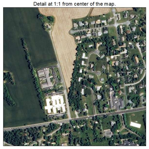 Warsaw, Virginia aerial imagery detail