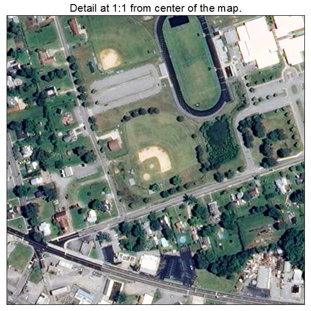 Windsor, Virginia aerial imagery detail