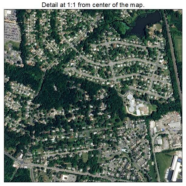 Woodbridge, Virginia aerial imagery detail