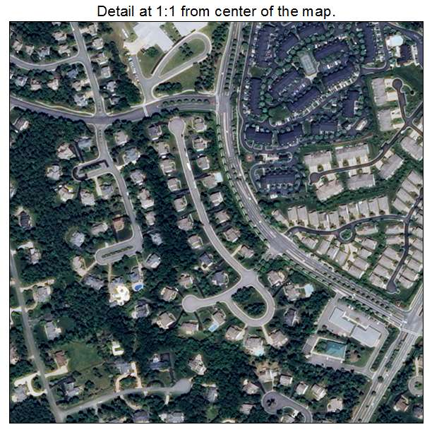 Wyndham, Virginia aerial imagery detail