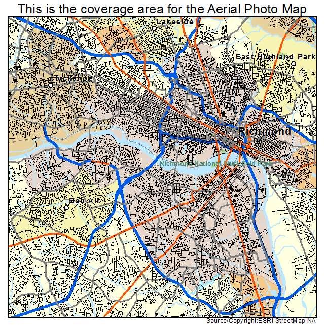Richmond, VA location map