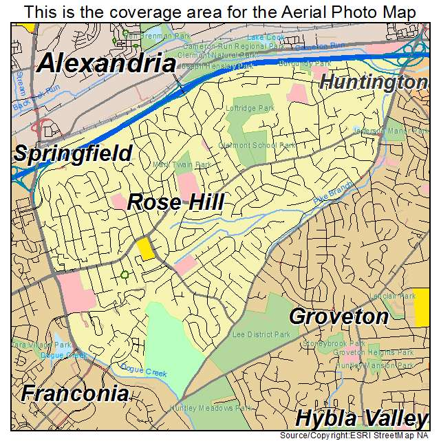 Rose Hill, VA location map