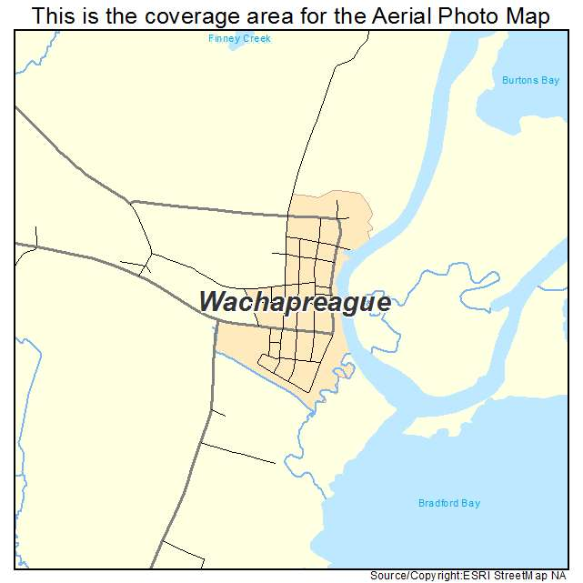 Wachapreague, VA location map