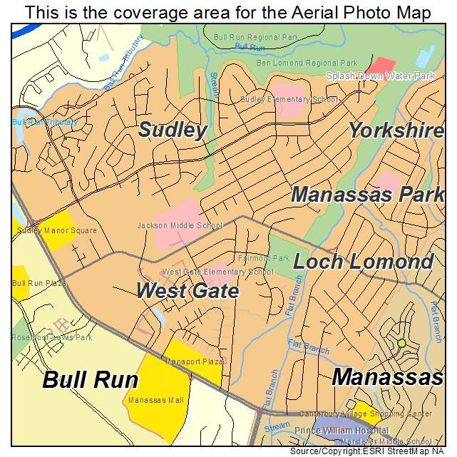 West Gate, VA location map