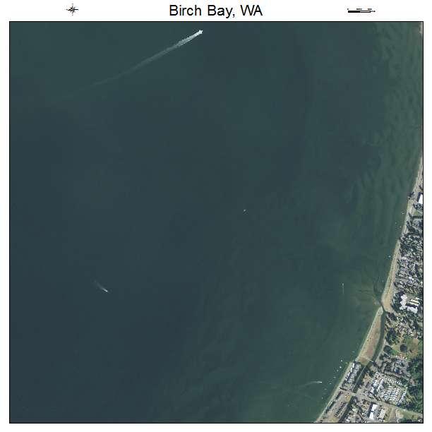 Aerial Photography Map Of Birch Bay Wa Washington