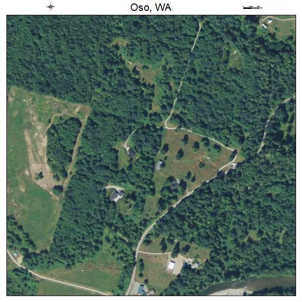 Oso, Washington aerial imagery detail