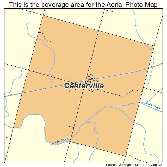 centerville wa map choice image