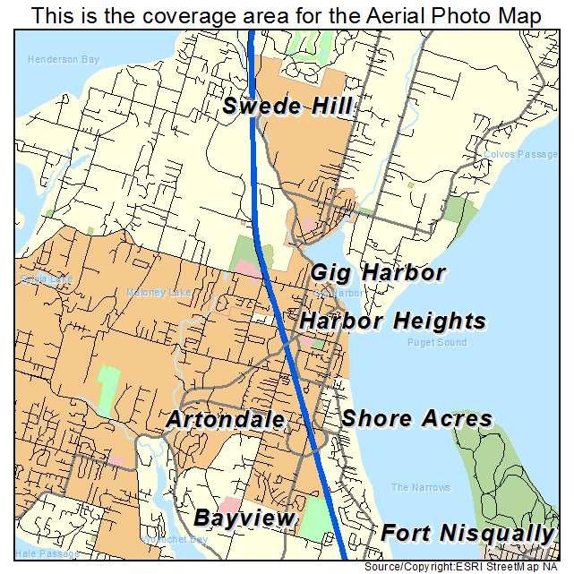 Gig Harbor, WA location map