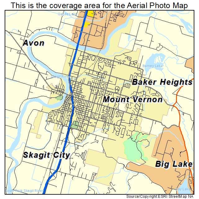 Mt Vernon Washington Map.Mount Vernon Wa Map Mount Vernon Map 2018 12 30