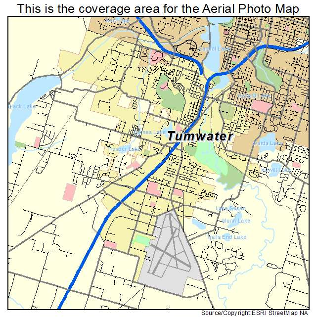 Map Of Olympia Wa Area Pictures To Pin On Pinterest