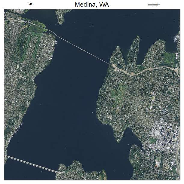 Medina Washington Map.Aerial Photography Map Of Medina Wa Washington