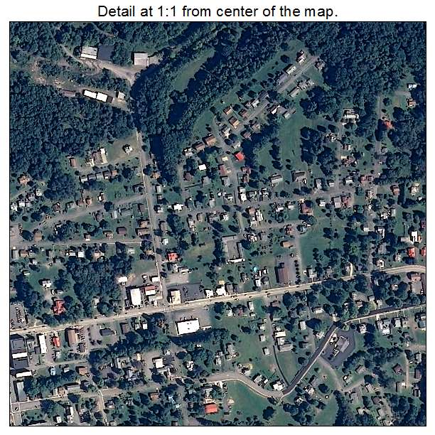 Kingwood Town Center: Aerial Photography Map Of Kingwood, WV West Virginia
