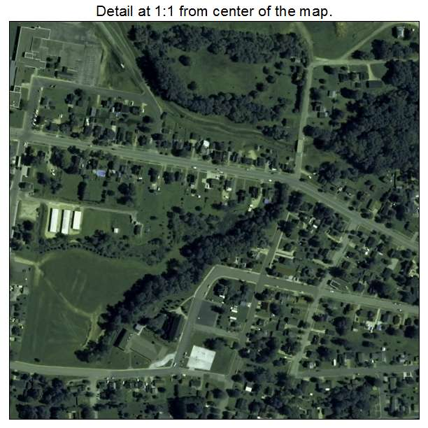 Aerial Photography Map Of Arcadia  Wi Wisconsin