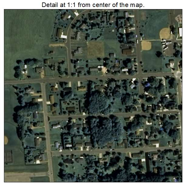 Aerial Photography Map Of Athens  Wi Wisconsin