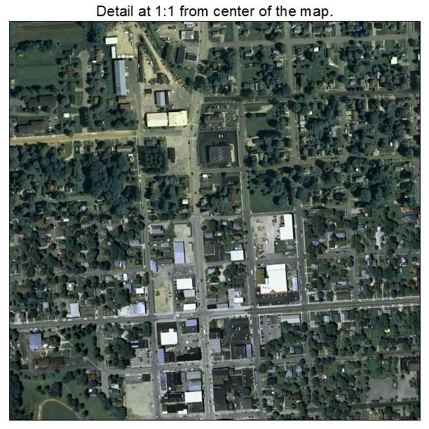 Viroqua, Wisconsin aerial imagery detail