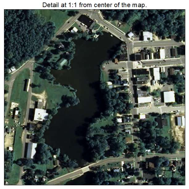 Aerial Photography Map Of Westfield  Wi Wisconsin