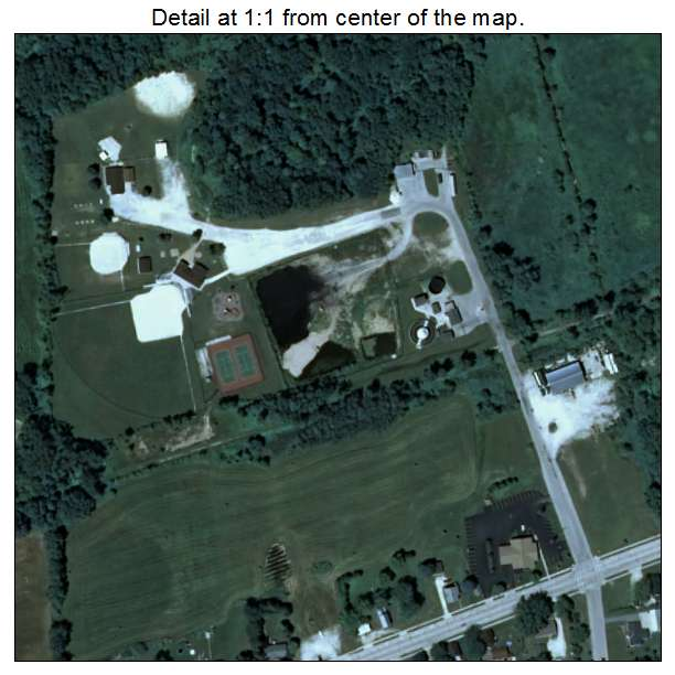 Aerial Photography Map Of Whitelaw  Wi Wisconsin